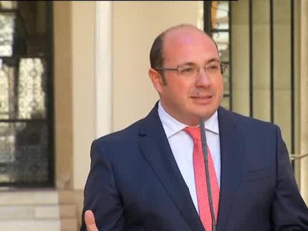 El presidente de Murcia niega todas las imputaciones por corrupción