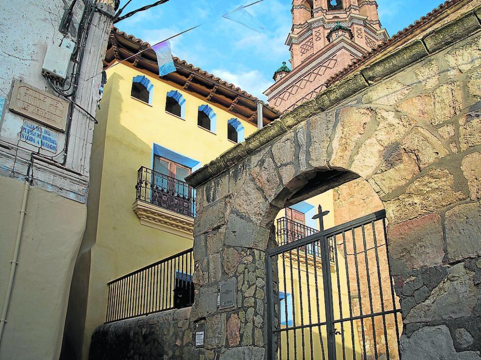 La antigua casa prioral, situada junto a la iglesia parroquial, se convertirá en una hospedería.