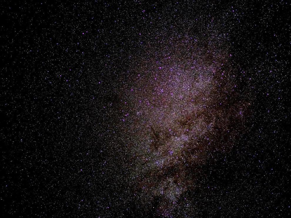 Una espectacular imagen de la Vía Láctea.