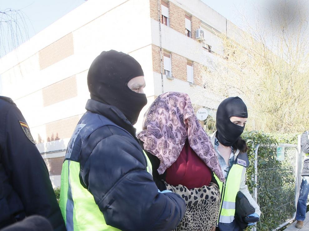 Dolores Hidalgo, detenida cuando iba a Siria