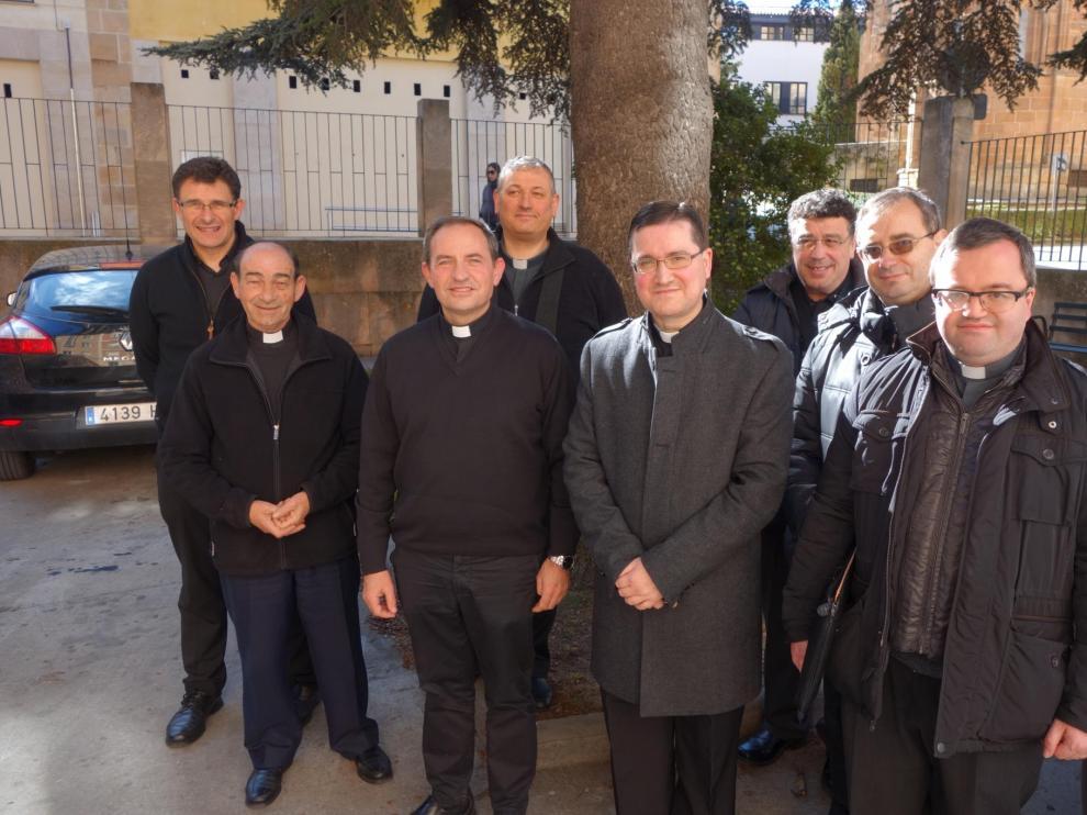 El obispo electo visita 'su' Diocesis