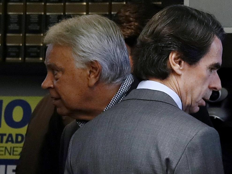 González y Aznar, juntos piden la liberación de Leopoldo López