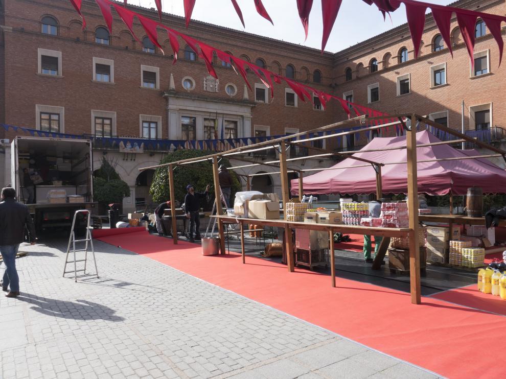 Teruel empieza a recrear el ambiente propio de la leyenda.