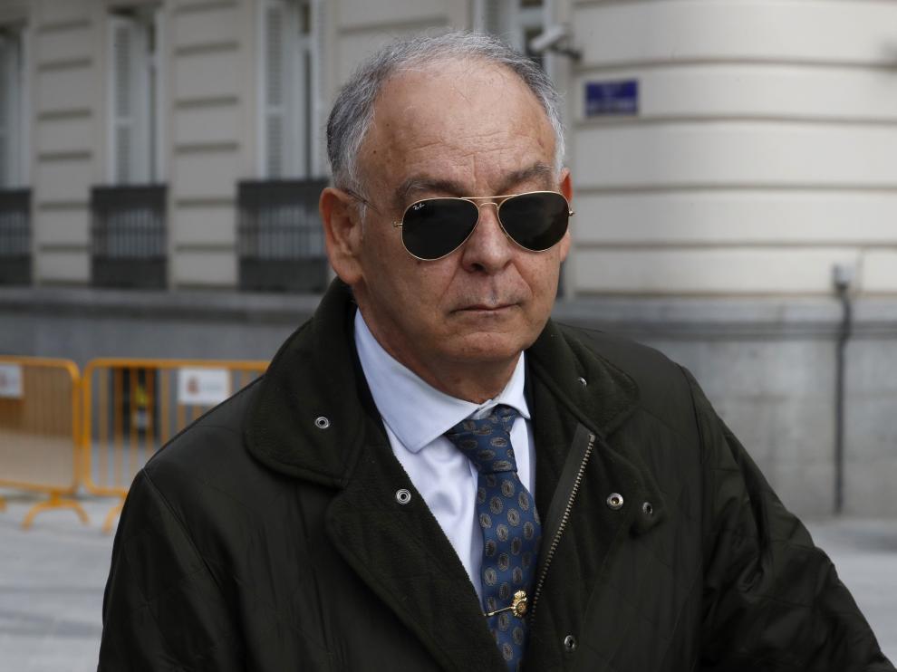 Eugenio Pino, exjefe de la Policía.