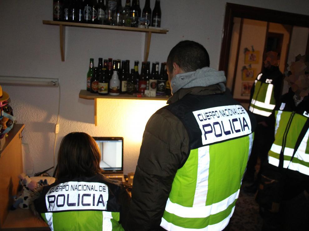 Una redada contra la prostitución infantil y la difusión de pornografía por Twitter deja 22 detenidos y 10 investigados, dos de ellos en Zaragoza