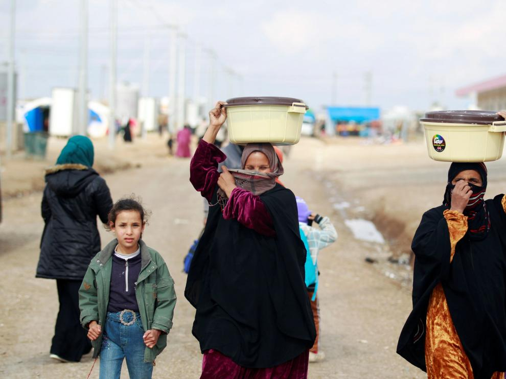 Residentes en Mosul.