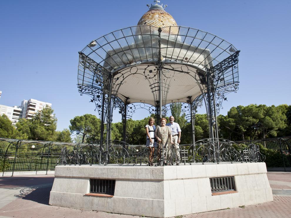 Imagen de archivo del Quiosco de la Música del Parque Grande.