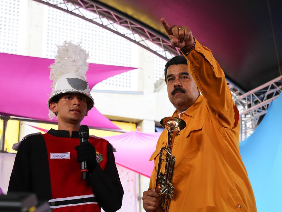 Nicolás Maduro en una imagen de archivo