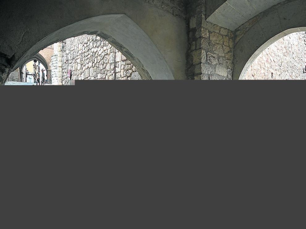 La puerta de la Andaquilla, punto de partida de la visita guiada por los referentes a los Amantes.