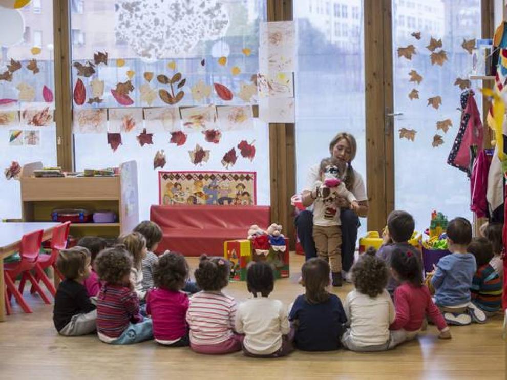 Escuela infantil María Urrea, en el Actur.