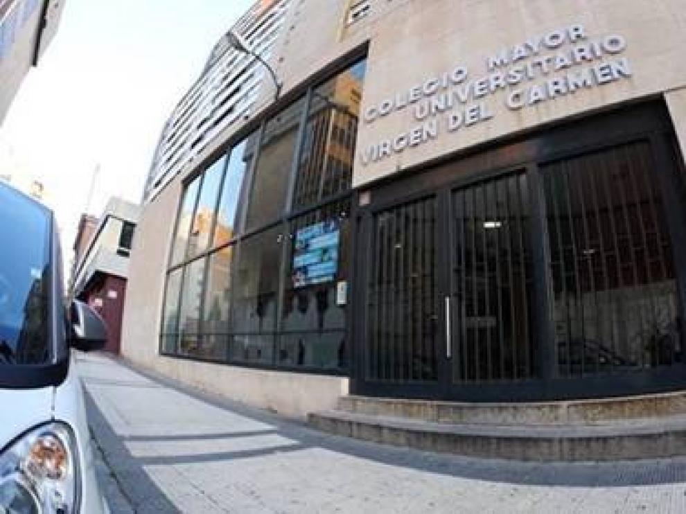 El Colegio Mayor Universitario Virgen del Carmen.