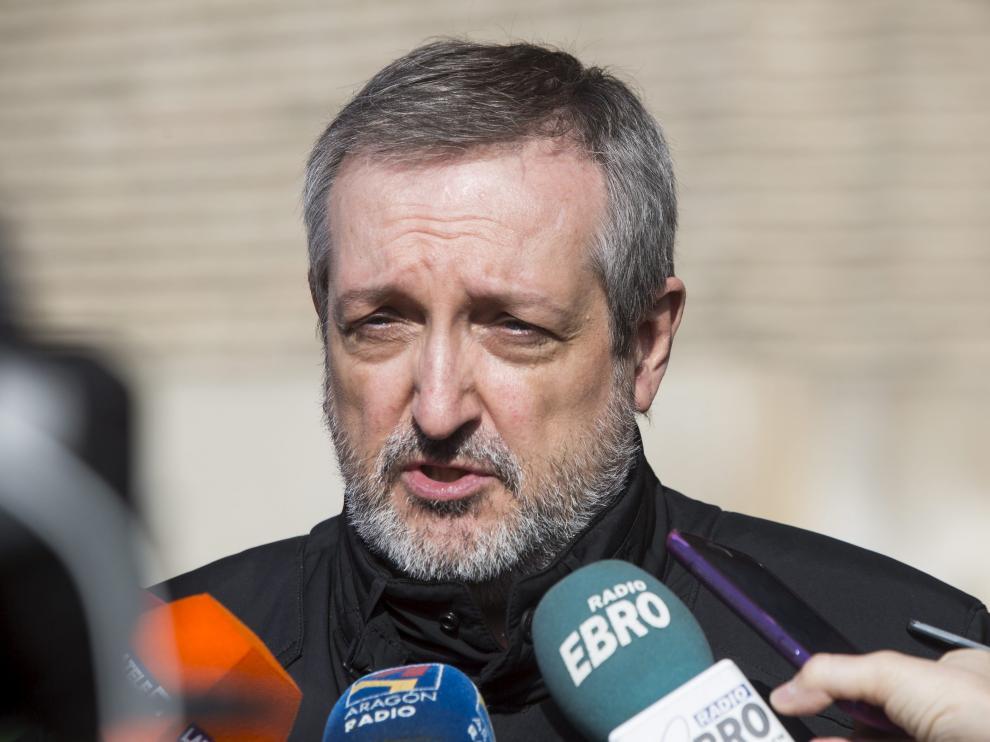 El presidente de la Unión de Consumidores de Aragón, José Ángel Oliván.
