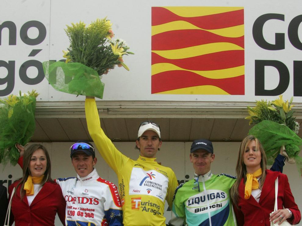 El último podio, triunfo de Rubén Plaza.