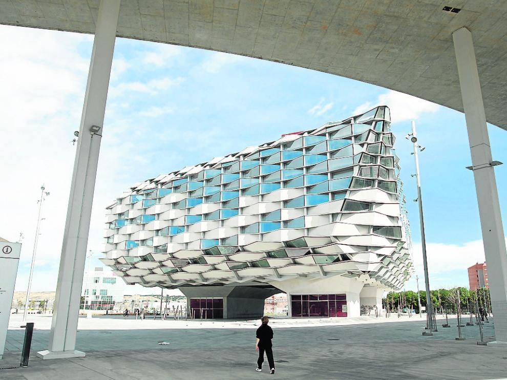 ¿Y si el pabellón de Aragón de la Expo se convirtiese en un cine?