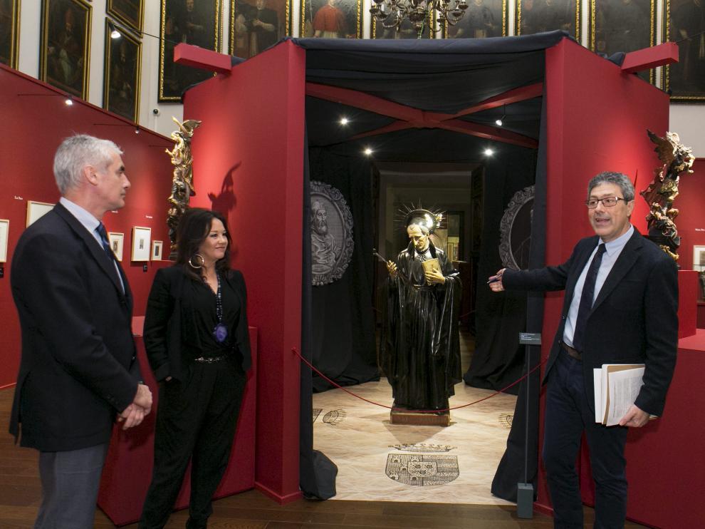 Exposición 'Pasión por las personas' en el Museo Alma Mater de Zaragoza