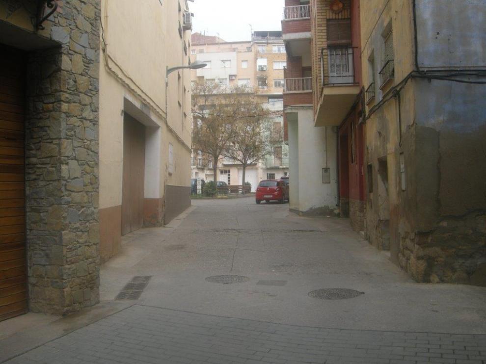 Calle San José en Fraga (Huesca).