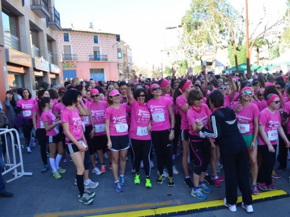 IV Carrera de la Mujer en Barbastro (Huesca).