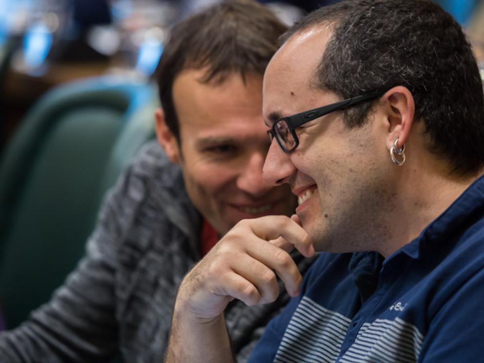 Alberto Cubero, este lunes, en el pleno del Ayuntamiento de Zaragoza.