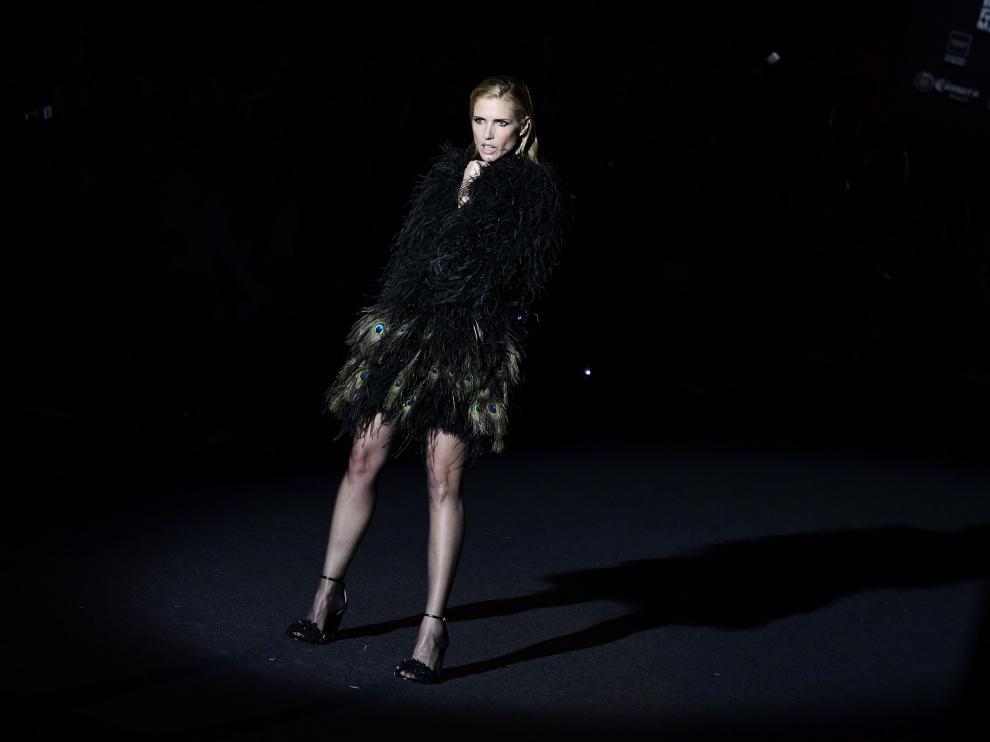 Desfile de Juan Duyos en la Fashion Week Madrid.