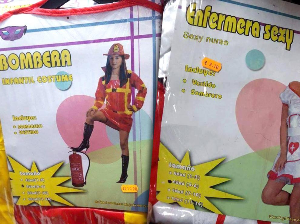 Disfraz de 'enfermera sexy' denunciado por Facua.