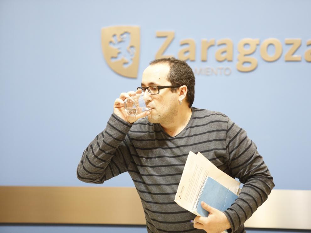 El concejal de Servicios Públicos, Alberto Cubero, en una foto de archivo.