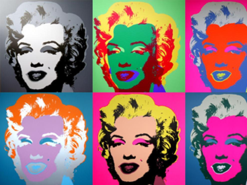 La Marilyn de Andy Warhol.
