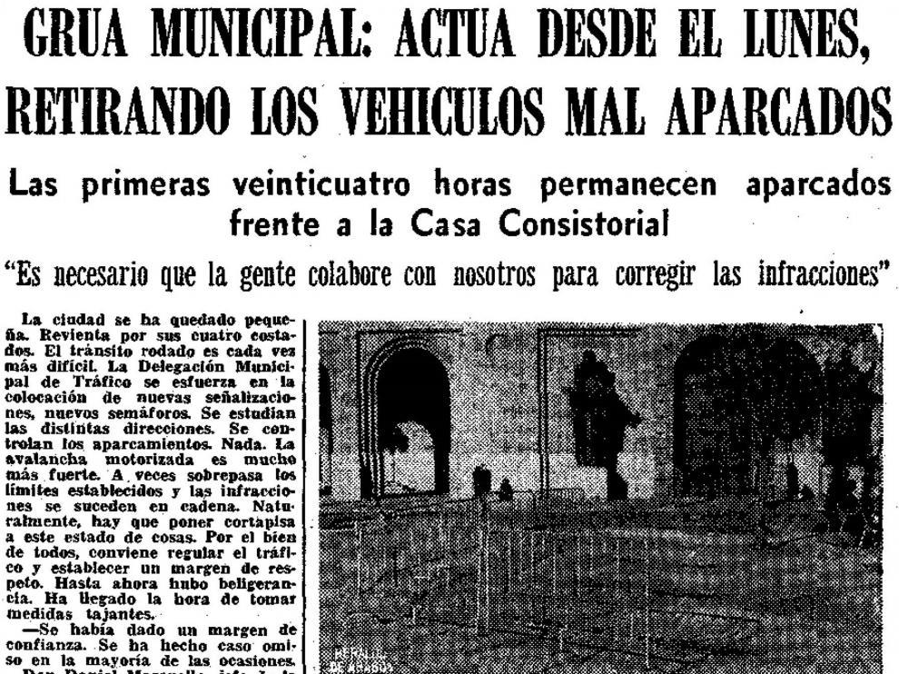 Noticia publicada en HERALDO DE ARAGÓN