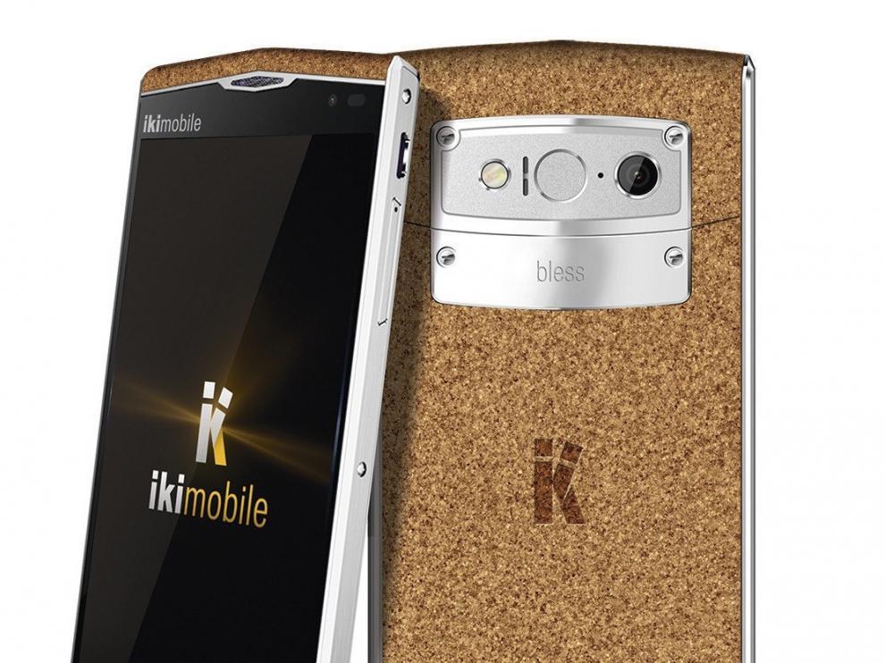 KF5 Bless Cork Edition, el móvil hecho con materiales reciclables.