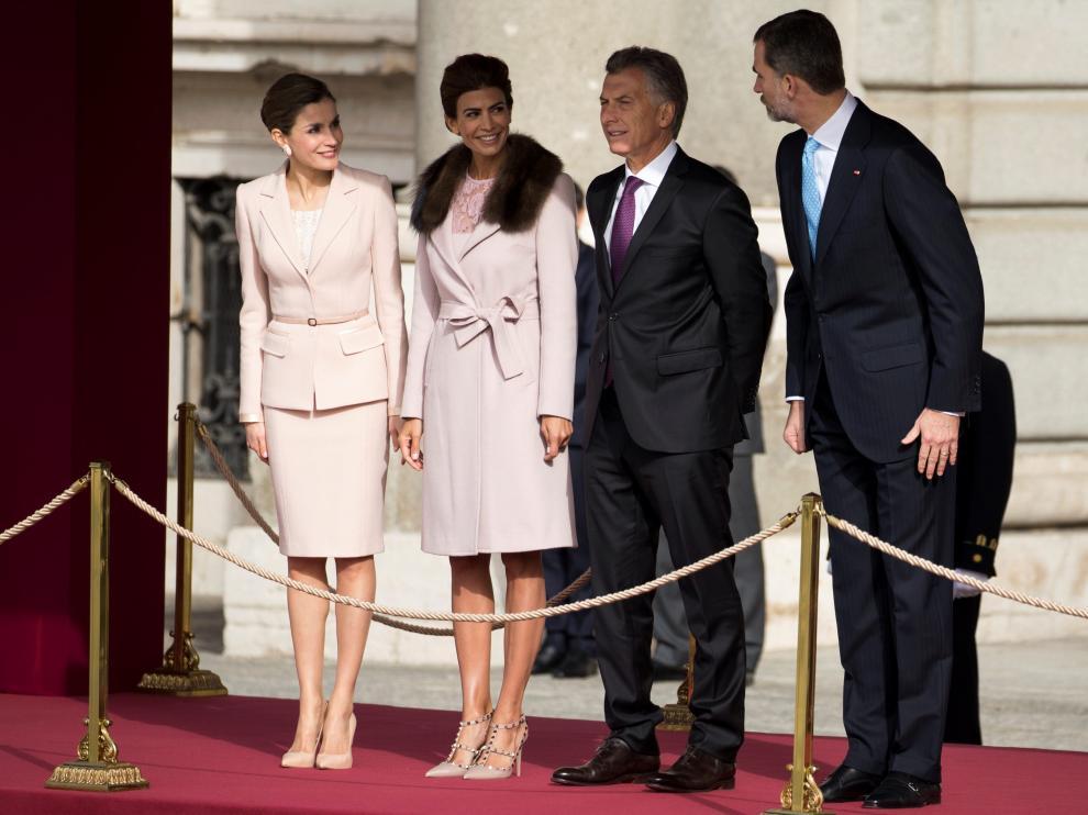 Macri comienza su visita de Estado