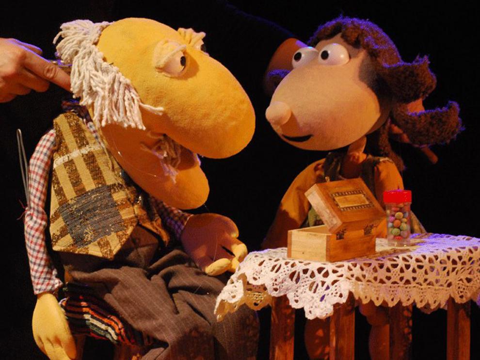 'El abuelo Teo' en Teatro Arbolé este fin de semana.
