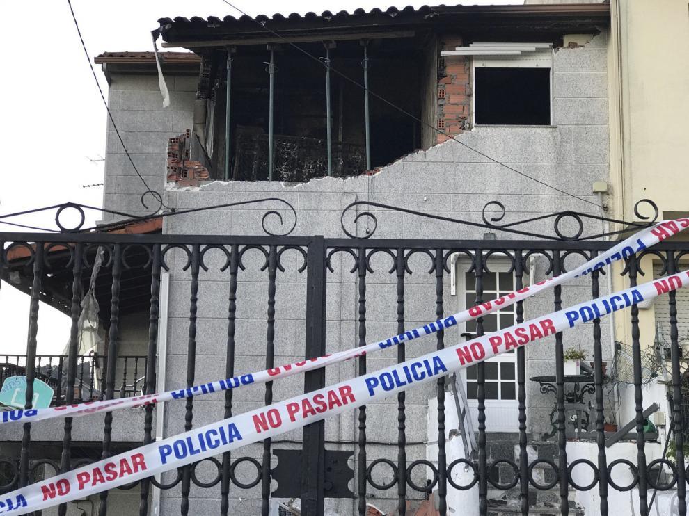 Esta semana una mujer murió junto a su expareja en una explosión provocada por él en Redondela.