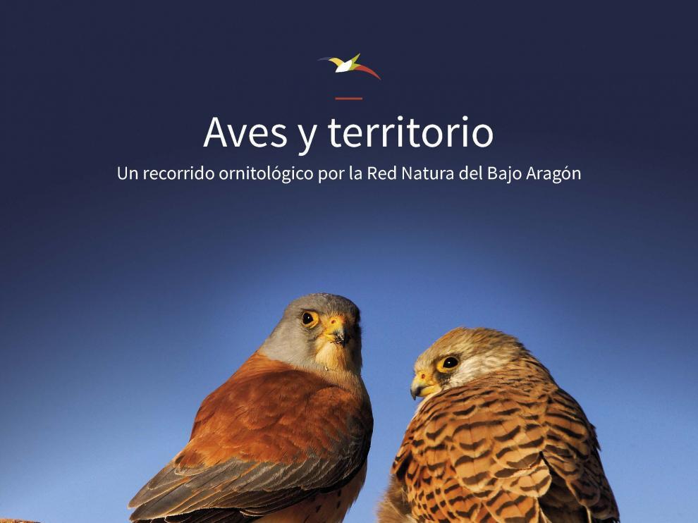 La guía de aves del Bajo Aragón ofrece 7 rutas de observación.