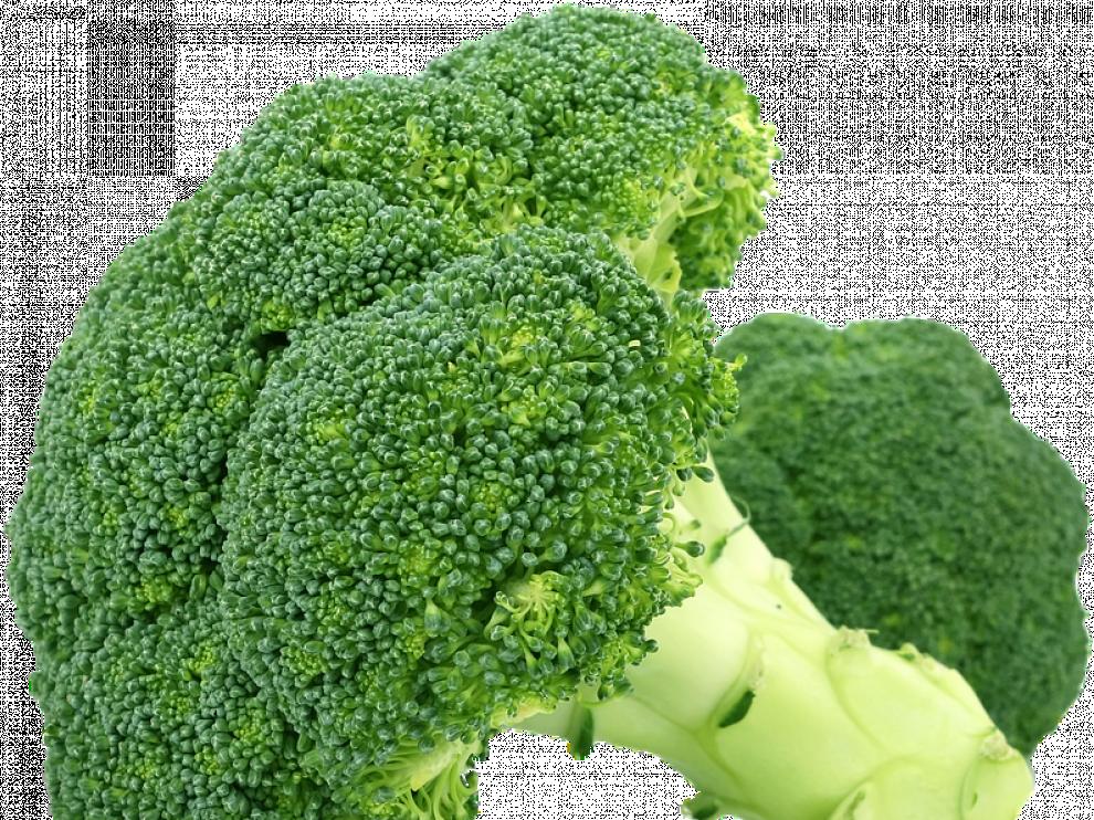El brócoli es una excelente fuente de calcio.