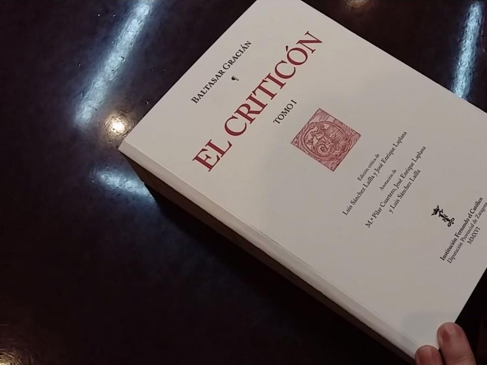 La Institución Fernando el Católico acaba de publicar una edición especial de 'El Criticón' de Baltasar Gracián