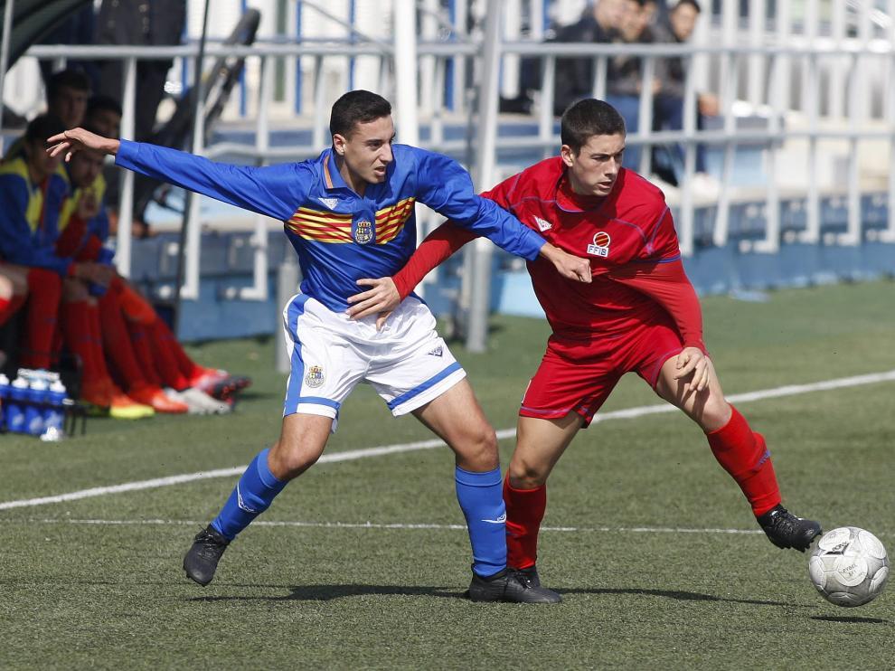 Aragón sub 18 le dio la vuelta al partido ante Baleares.