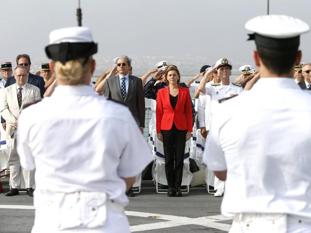 Acto presidido por  la ministra de Defensa, María Dolores de Cospedal.