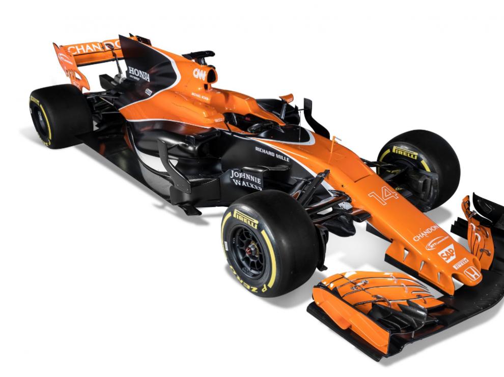 McLaren recupera el naranja.