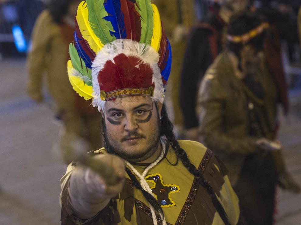 Carnaval en Zaragoza.