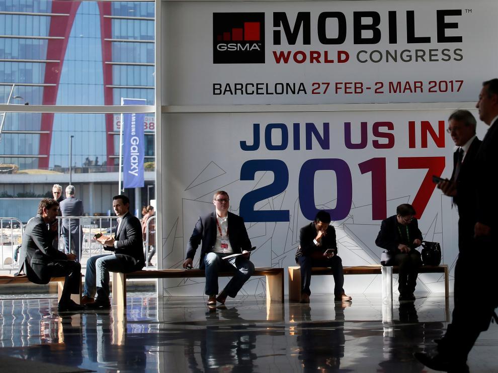 Todo está listo en Barcelona para el inicio del Mobile World Congress.