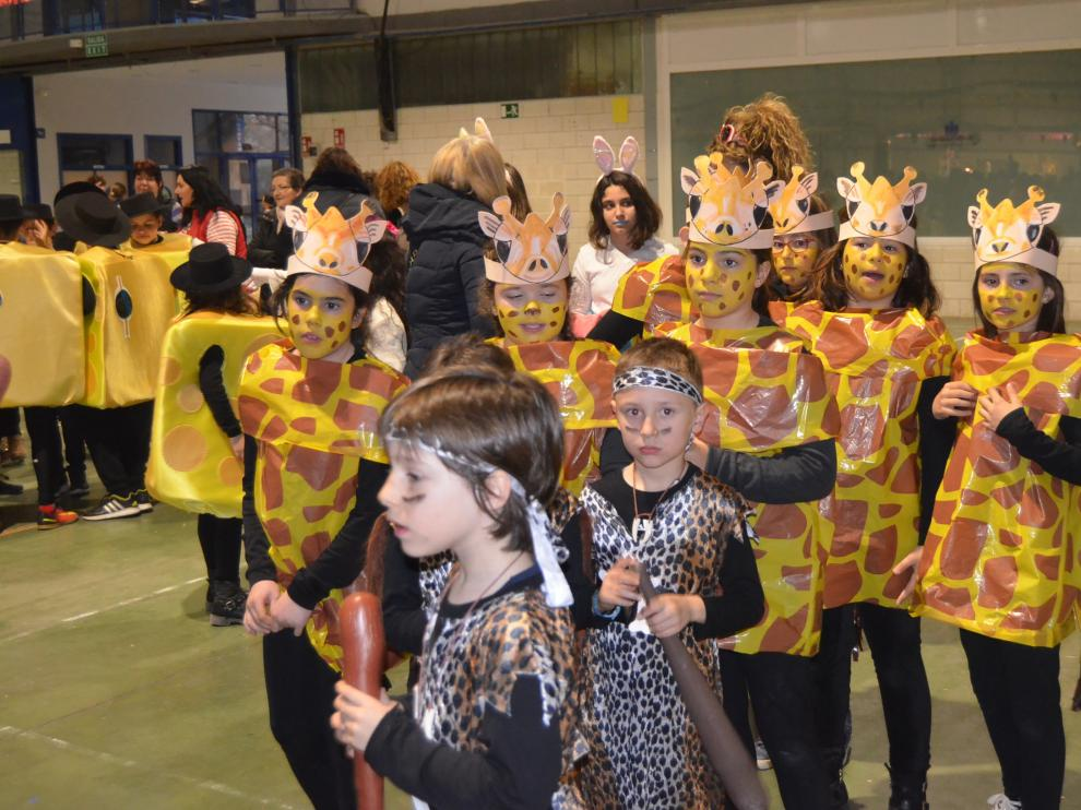 Carnaval infantil en Barbastro