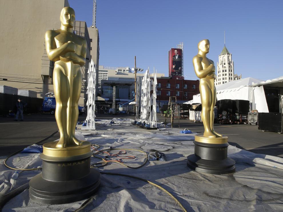 Todo listo para la 89 edición de los premios Óscar.