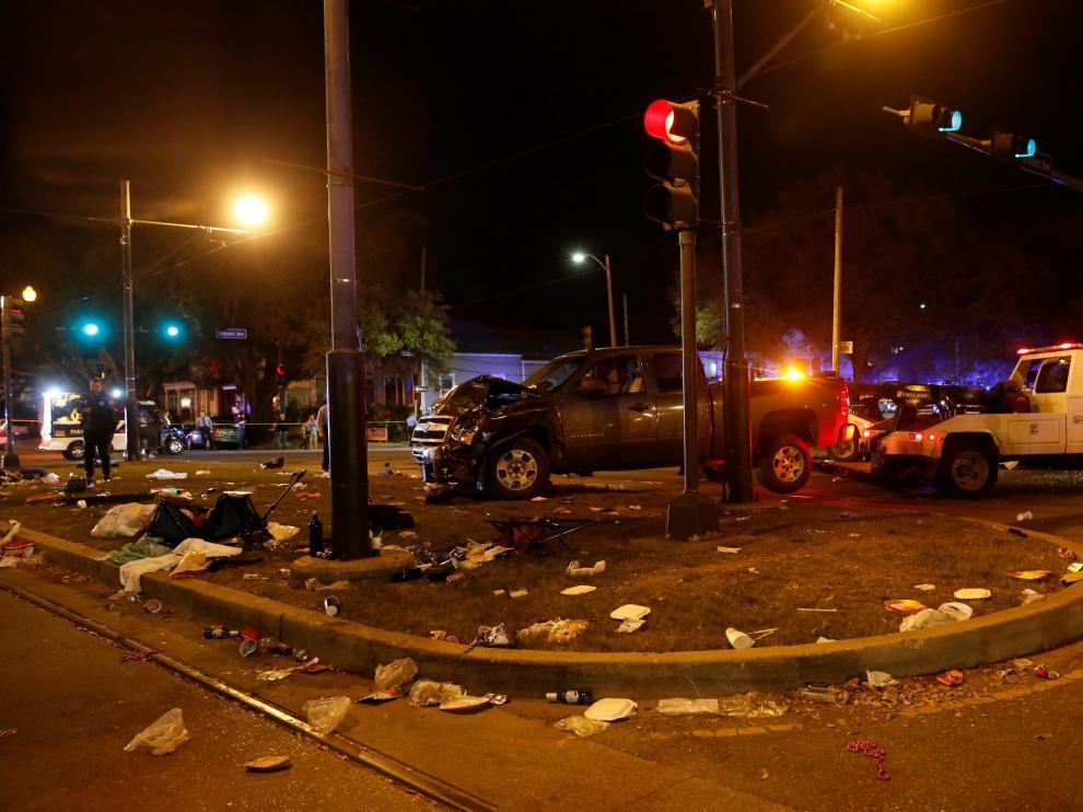 La policía de Nueva Orleans ha descartado que se trate de un atentado
