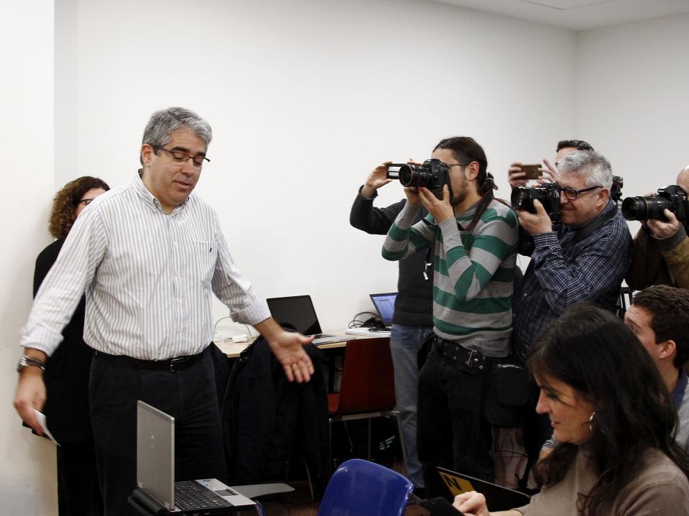 Homs ha ofrecido una rueda de prensa este domingo