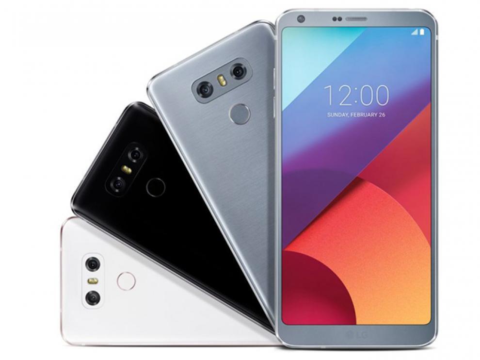 Imagen del LG modelo G6.