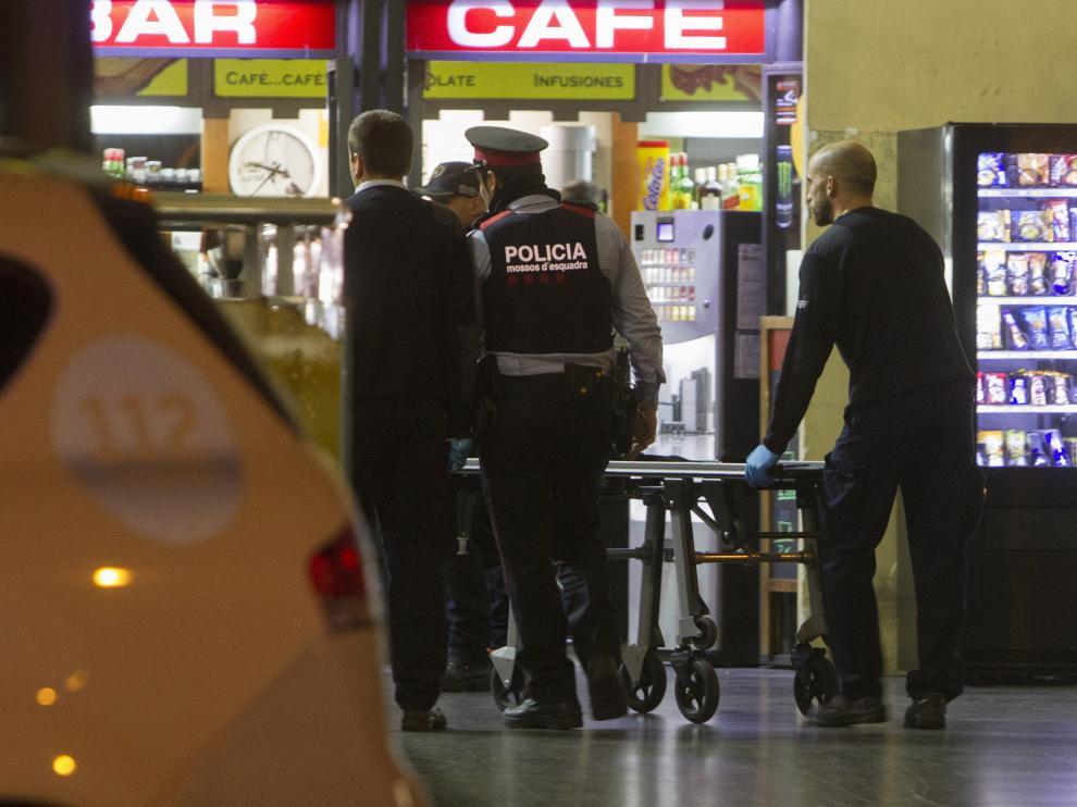 Ocurrió en la estación de tren Sant Andreu Arenal de Barcelona.