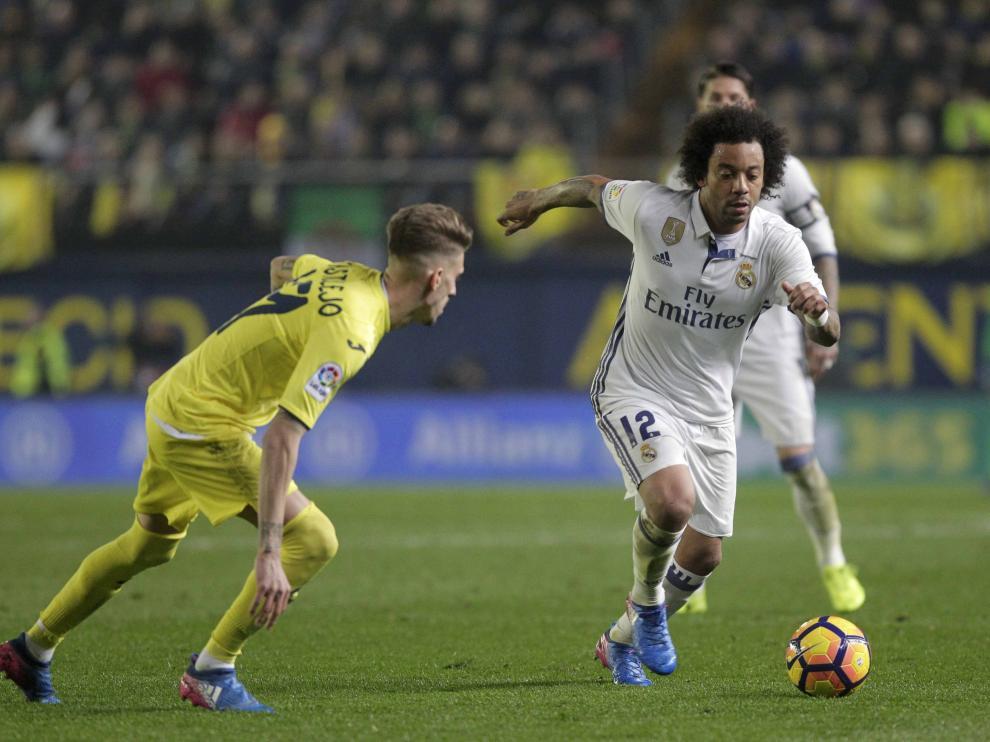 Real Madrid vs Villarreal.