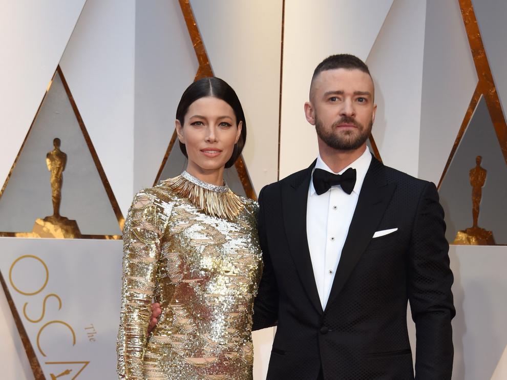 Jessica Biel y su marido Justin Timberlake