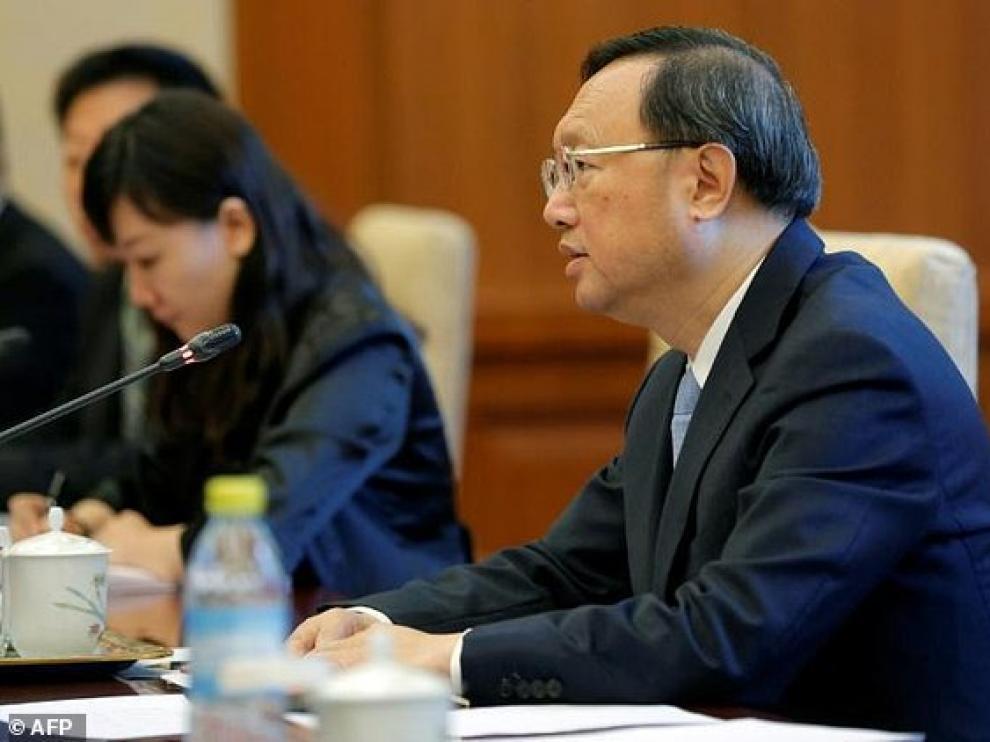 El consejero de Estado Yang Jiechi, el diplomático chino de más alto rango.