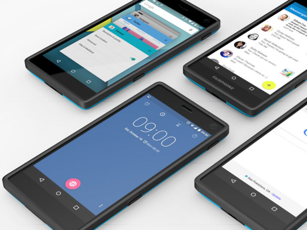 Fairphone, la firma de móviles éticos, ultima un acuerdo con una operadora para crecer en España