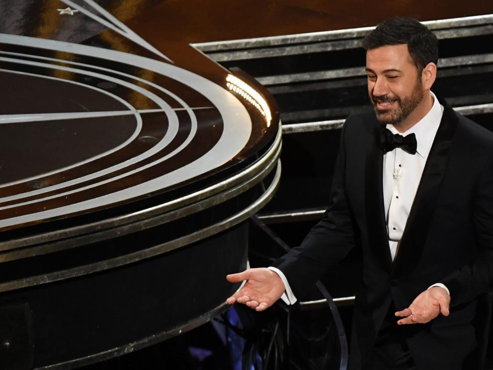 Jimmy Kimmel presentó la 89 edición de los Premios Óscar.